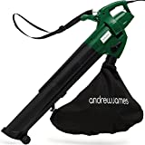 Andrew James Leaf Blower and Vacuum Mulcher | Electric 4KG Lightweight Garden Tool