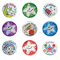 Sticker Solutions Sparkling Praise Stickers (Pack of 54)