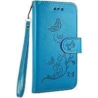 Hülle für iPhone 8 / iPhone 7, Lederhülle Muster Schmetterling Handy Tasche Etui Handyhülle Schale Magnetverschluss... preisvergleich bei billige-tabletten.eu