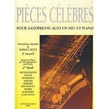 MULE - Piezas Clasicas Celebres Vol.2 para Saxofon Mib y Piano (*)