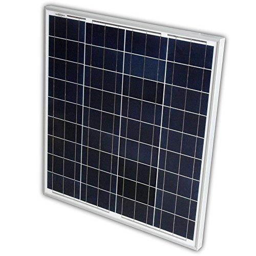 Solarpanel Solarmodul 65W 12Volt Poly 65 Watt Solarzelle für Garten Wohnwagen oder Boot