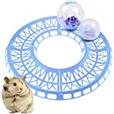Hamster Exercise Loop Racetrack Running Track For Hamster Balls For Pet Safety