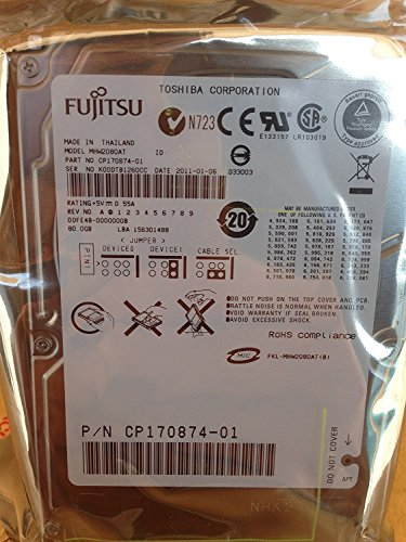 Fujitsu Festplatten 2,5 Zoll IDE 2,5