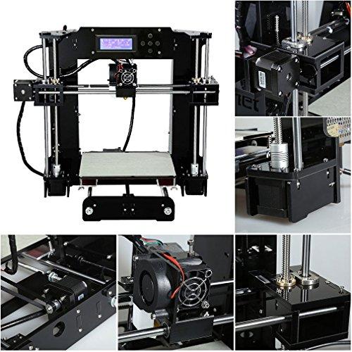 Anet X6 High Speed Precision DIY 3D Drucker Printer Kit mit größerer Druckgröße 220*220*250mm | PLA ABS 1.75mm Filament | Auto-Nivellierung | Technischer Support - 6