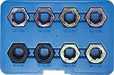 BGS Gewinde-Reparatursatz für Antriebswellen-Gelenkwellen, 8-teilig, 1141
