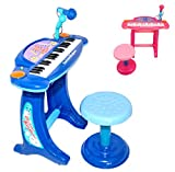 Best Piano For Toddlers - Playtech Logic Childrens Recording Karaoke Electronic Keyboard Piano Review