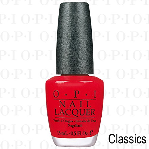 OPI Nagellack 15ml - Classic Collection - Big Apple Red - knalliges Rot (Opi-classic-farben)