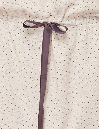 Schiesser Damen Nachthemd Sleepshirt 1/1, 95cm Beige (beige-mel. 406)