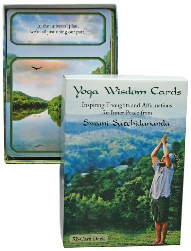 Yoga Wisdom Cards (deck) by Swami Satchidananda (2013-03-30)