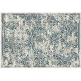 meraviglioso Alfombra Persa Colección Sitap – Alfombra Oriental Gris y azul Sofia 9880442 – 6989