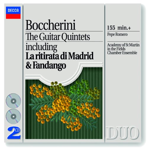 Boccherini: The Guitar Quintet...
