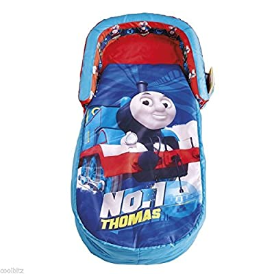 ReadyBed Thomas the Tank Engine Airbed & Sleeping Bag In One - low-cost UK bed store.