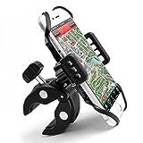 Handyhalterung Fahrrad Motorrad Univesal Fahrradhalterung Handy | Kopfhörereingang Kabelanschluß Zugängig für GPS Handy Iphone 7/6/6S/6 plus/5s Samsung Galaxy s6
