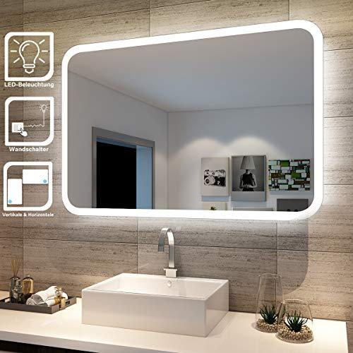 ᐅᐅ】11 2019 beleuchtete badspiegel erfahrung die  badezimmerspiegel moderne technik zeitloses design #12
