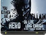 livestash batman vs joker 2 laptop skin