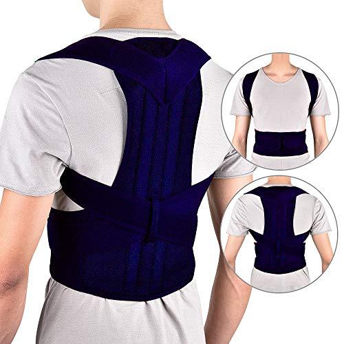 Haltungstrainer Geradehalter Haltungskorrektur zur Rückentrainer Schulter Rückenstütze Schultergurt gegen Nacken und Schulterschmerzen Körperhaltung Unterstützung Rückens Rücken für Damen Herren -