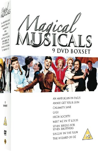 Magical Musicals Collection - (Annie Get Your Gun / Seven Brides For Seven Brothers / Singin In The Rain / Gigi / Wizard of Oz / Calamity Jane / High Society / Meet Me In St Louis / American In Paris) [9 DVDs] [UK Import]