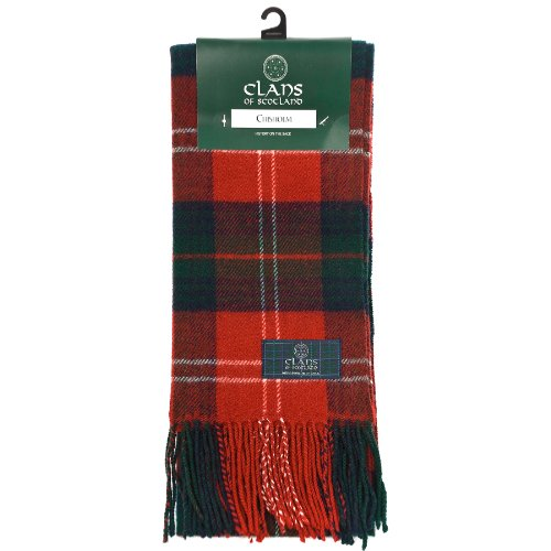 Clans of Scotland - Echarpe -  Homme Multicolore Bigarré CHISHOLM