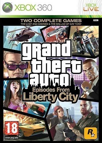 Grand Theft Auto: Episodes from Liberty City - PEGI