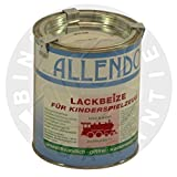 Lackbeize für Spielzeug (750 ml schwarz)