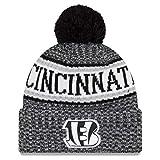 New Era NFL Sideline 2018 Bobble Mütze Cincinnati Bengals
