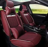 LNDDP Housse siège Auto, Compatible avec BMW F10 F11 F15 F16 F20 F25 F30 F34 E60 E70...