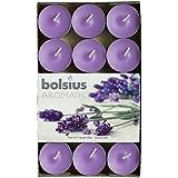 Bougie chauffe-plat senteur aromatique Lavande française, cire de paraffine, Violet, Lot de 30