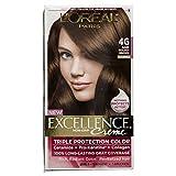 L'Oreal Excellence Creme #4G Dark Golden Brown (Haarfarbe)