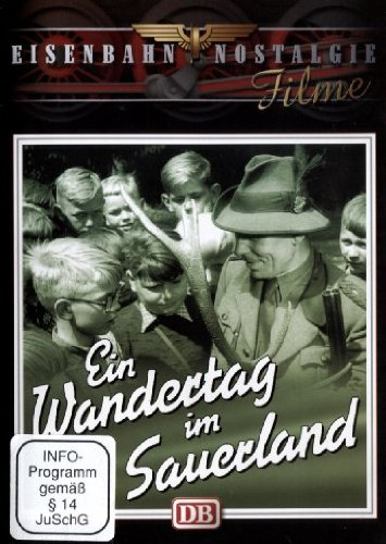 Ein Wandertag im Sauerland - DB Eisenbahnfahrt 1959