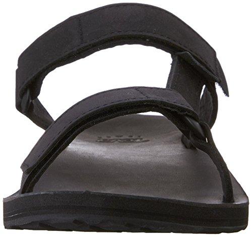 Teva Herren M Universal Slide Leather Leichtathletikschuhe Schwarz