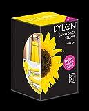 Dylon Machine Colorant 350g Jaune Tournesol, Sel Inclus!