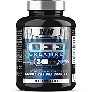 51ThriRmCXL. SS300  - CEE Creatine - Creatine Ethyl Ester 3,000mg x 40 Servings - 240 Vegetarian Tablets