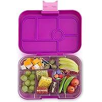 Preisvergleich für Yumbox Original M Lunchbox - (Bijoux Purple, 6 Fächer) - Brotdose mit Unterteilung | Bentobox mit Trennwand Einsatz für Schule und Kindergarten Kinder, Picknick, Arbeit sowie Uni