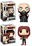 Funko POP! Hellboy: Rasputin + Liz Sherman – Stylized Comic Book Vinyl Figure Set NEW