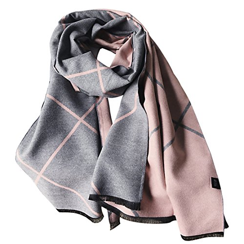 Women Autumn Winter Long Soft Warm Large Scarves Wraps Wool Spinning Tassel Shawl Long Stole Oversized Shawl Cape