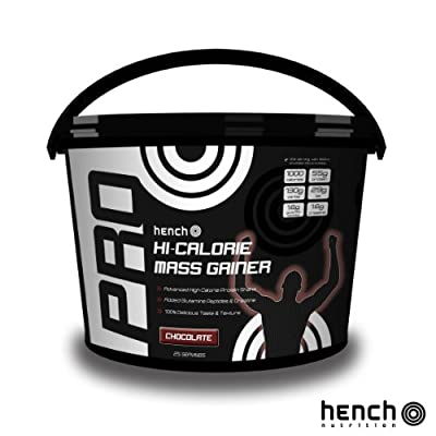 4kg Hench Nutrition Hi-calorie Mass Gainer / Weight Gain Whey Protein Powder - Chocolate from Hench Nutrition