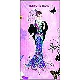 Robert Frederick–Libreta de direcciones Claire Coxon Art Deco Lady mariposa/de pluma estilográfica, plástico, varios colores