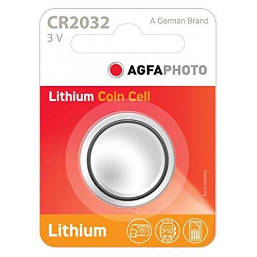 AgfaPhoto Lithium Pile bouton batterie CR 2032