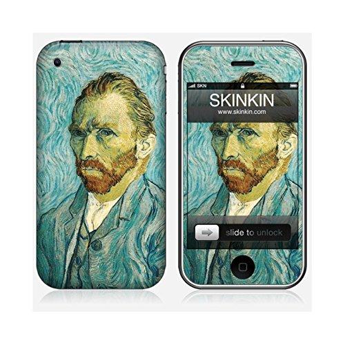 Skinkin Wandtattoo iPhone 3von zu Hause Design Original: Self Portrait von Van Gogh