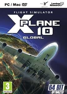X Plane 10 Global - 64 Bit & 32 Bit (PC DVD) [UK IMPORT]
