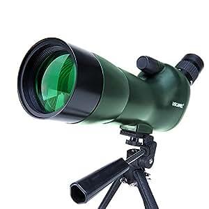 USCAMEL Cannocchiale 20-60x60AE zoom ad alta definizione, riempito con gas azoto, impermeabile, telescopio per osservazioni ornitologiche, microscopio per osservazione bersagli, lente per visione notturna