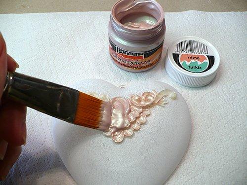 Acrylfarbe Chamäleon in Set 4x50ml – Set 2. Perlmuttfarbe, Bastelfarbe, Acrylfarbe - 4