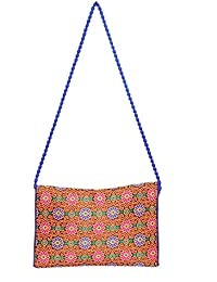 Designer And Trendy Handicraft Jhola Bag Ethnic Design Embroidery Work For Girl/women/Ladies