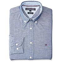 Tommy Hilfiger Shirts For Men, Blue & White S