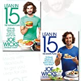Lean in 15 Collection Joe Wicks 2 Books Bundle (The Sustain Plan: 15 Minute Meals and Workouts to Get You Lean for Life, The Shape Plan: 15 Minute Meals With Workouts to Build a Strong, Lean Body)
