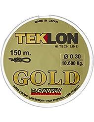 Grauvell 421310 - Sedal monofilamento de pesca, 150 m, 0.10 diámetro, 1600 kg
