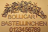Holzbuchstaben und Zahlen Multi Set 108 Teile 20mm - BZ-BSG-20-001