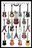 Grindstore laminé Musique Maxi poster avec un joueur de guitare & # 39; S Heaven, classique modèles 61x 91.5cm