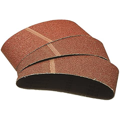 Wolfcraft 1899100 - 9 lijas de banda  abrasivas grano 40,80,120 65 x 410 mm