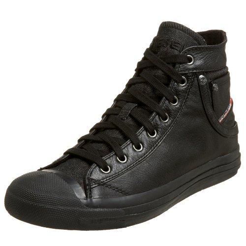 Diesel Schuhe Exposure 00Y833 PR052 Herren Sneaker, Schwarz (Black T8013), EUR 40.5/USA 8/JPN 26 (Diesel Schwarz Schuhe)